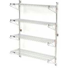 Wall Mount Wire Shelving Global Industrial