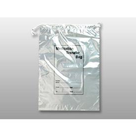 Two Wall Drawstring Specimen Transfer Bags