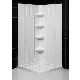 Dreamline™ Shower Base & Backwall Kits