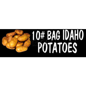 Potatoes Grocery Signs