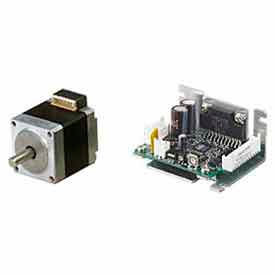 Microstep Motor Systems W/Round Shaft