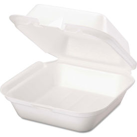Hinged Lid Foam Containers
