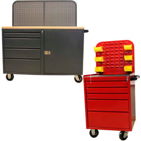 Valley Craft Mobile Modular Drawer Cabinets