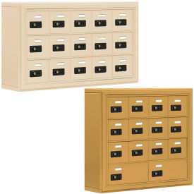 Salsbury 19000 Series Cell Phone Lockers, Surface Mounted, Resettable Combination Lock