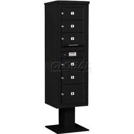 Salsbury 3400 Series 4C Horizontal Single Column Pedestal Mailboxes Without Parcel Lockers