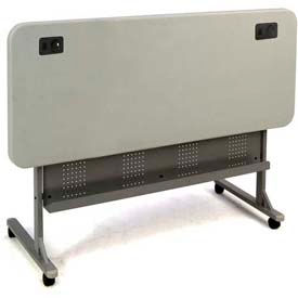National Public Seating - Blow Molded FlipnStore Computer Table
