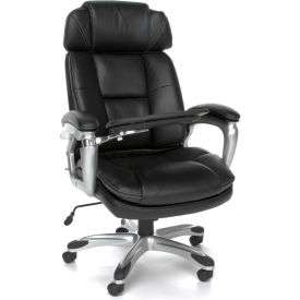 OFM Leather Chairs with Tablet Arm