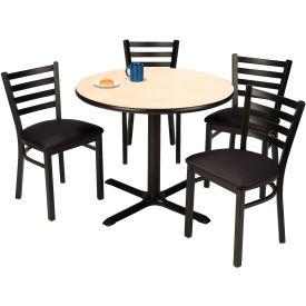 KFI - Table with 4 Café Chairs Set