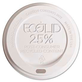 Eco-Products® EcoLid® 25% Recycled Content Hot Cup Lids