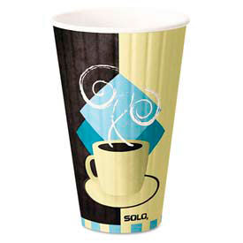 SOLO® Cup Company Duo Shield™ Insulated Paper Hot Cups