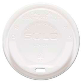 SOLO® Cup Company The Gourmet Lid® Hot Cup Lids for Trophy® Plus™