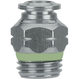 Alpha Fittings Straight Male Connectors