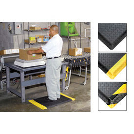Diamond Plate Anti Fatigue Safety Matting & Industrial Mats
