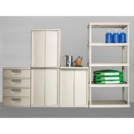 Light Duty Plastic Storage Cabinets