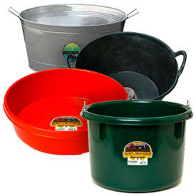 Animal Feed Tubs, Pans & Pails