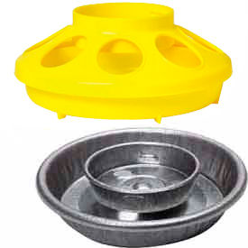 Poultry Feeder & Waterer Combo