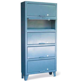 Strong Hold® All-Welded Lift-Up Lid Cabinets