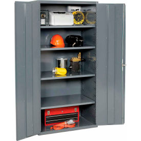 All-Welded Heavy Duty 16 Gauge Cabinets - Up To 900 LB. Shelf Capacity