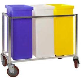 Winholt® Triple Ingredient Bin Cart