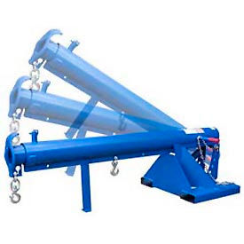 Adjustable Pivoting Forklift Jib Boom Cranes