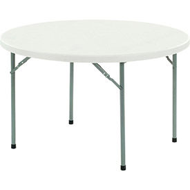 Paramount™ Extra Value Round Plastic Folding Tables