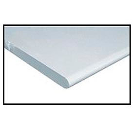 """48"""" W x 36"""" D x 1-1/4"""" Thick, ESD Safety Edge Workbench Top, White"""