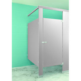 Metpar Overhead Braced Powder Coat Steel Bathroom Partition Components