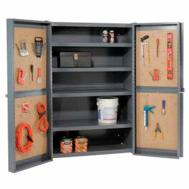 All-Welded Pegboard Organizer Cabinets 16 Gauge