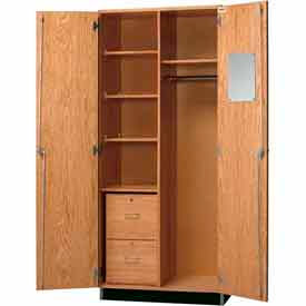 Wood Wardrobe Combination Cabinet