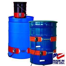 BriskHeat® Silicone Rubber Drum & Pail Heaters