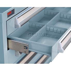 Lyon Modular Drawer Unit Divider Kit NF240D100 - 8 Compartment