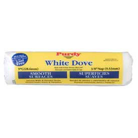 White Dove - Smooth 3/4 in. nap - Woven Covers  9 in.