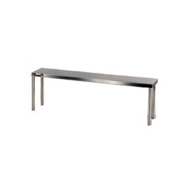"Aero Manufacturing 40-1248 16 Gauge Stainless Steel 48"" Riser Shelf"