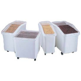 Rubbermaid Plastic Ingredient Bin Trucks With Lids