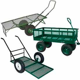 Sandusky Heavy Duty Steel Nursery Wagons