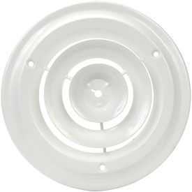 AmeriFlow® Round Ceiling Diffuser 6 Inch Duct Diameter - Pkg Qty 10