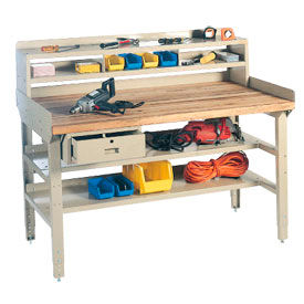Heavy Duty Adjustable Height Workbench