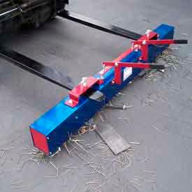 The Enforcer Heavy Duty Forklift Magnetic Sweeper