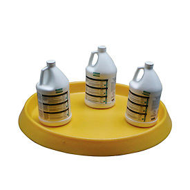 Round Plastic Spill Containment Trays
