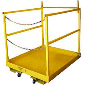 Dixie Heavy Duty Forkliftable Work Platforms