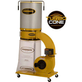 Powermatic 1791079K Model PM1300TX-CK 1.75HP 1-Phase 115/230V Dust Collector & 2-Micron Canister Kit