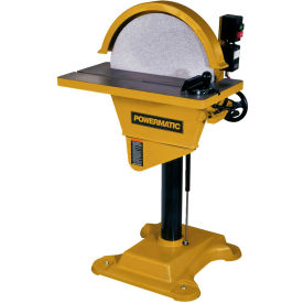 Powermatic 1791264 Model DS-20 3HP 3-Phase 230V/460V (Wired 230V) Disc Sander