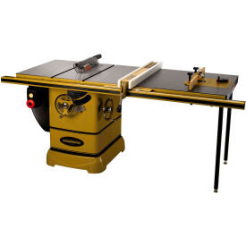 """Powermatic 1792006K Model PM2000 5HP 3-Phase 230/460V Tablesaw W/ 50"""" Rip Accu-Fence ROUT-R-LIFT"""
