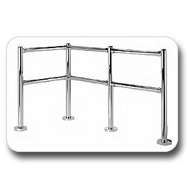 Indoor Shopping Cart Corrals