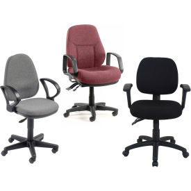 Paramount™The Fabric Synchro Chair - Choice Of Optional Armrests
