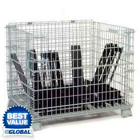 Folding Wire Bulk Containers