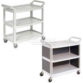 Plastic Open & Enclosed Utility Carts