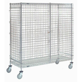 Wire Security Storage Truck 36 X 18 X 69 1200 Lb. Capacity