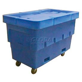 Dandux Plastic Taper Box Truck With Fork Pockets