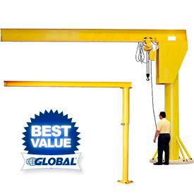 Abell-Howe® Floor Mounted Jib Cranes